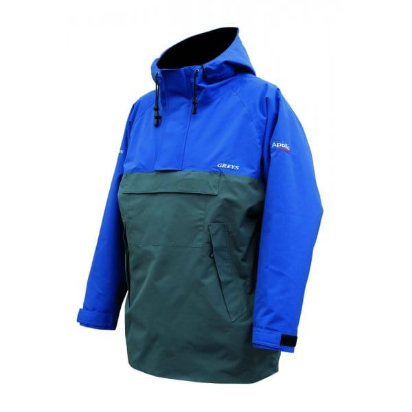 Greys apollo smock extreme mk2 north east tackle supplies for Waterproof fishing clothing