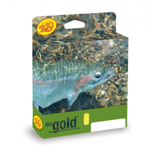Rio gold fly line floating trout north east tackle for Rio fly fishing