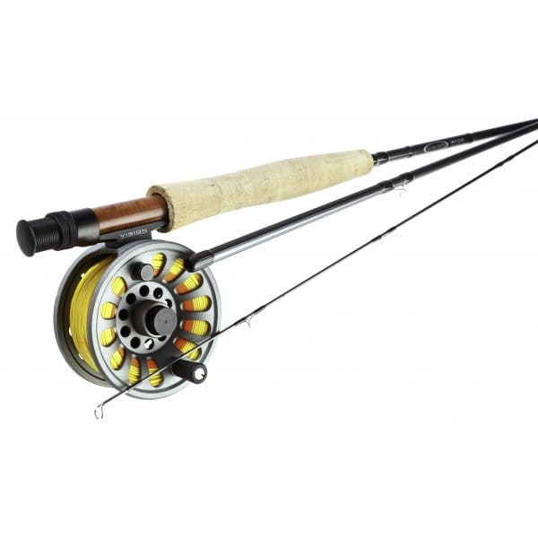 Vision atom fly rods fly fishing combos north east for Trout fishing rod and reel