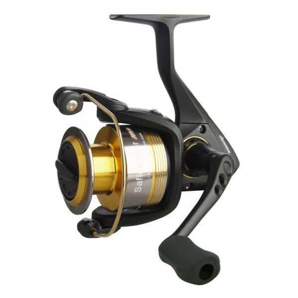 Okuma spinning reel safina noir 40 55 north east for Fishing reel sizes