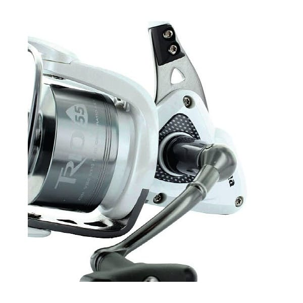 Okuma trio white reel spinning north east tackle supplies for Okuma fishing reels for sale