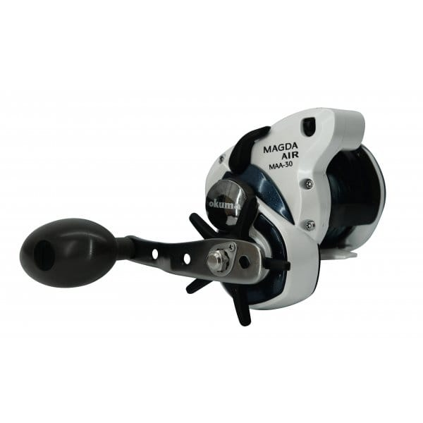 Okuma magda air reel maa 30d line counter north east for Line counter fishing reels