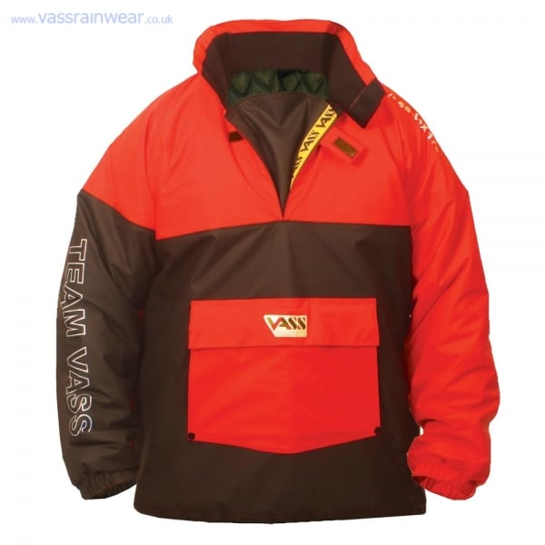 Team vass 175 winter smock lined waterproof and for Waterproof fishing clothing