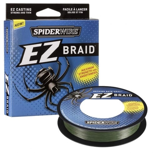 Spiderwire EZ Braid Lo vis Green