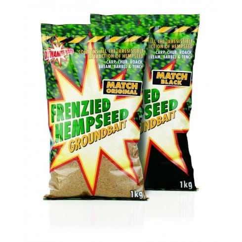 Dynamite Baits Frenzied Hemp Match & Specimen Groundbaits 1kg
