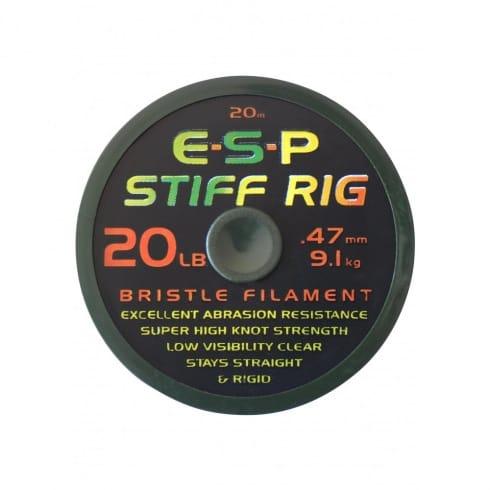 ESP Stiff Rig Filament Mono for carp rigs