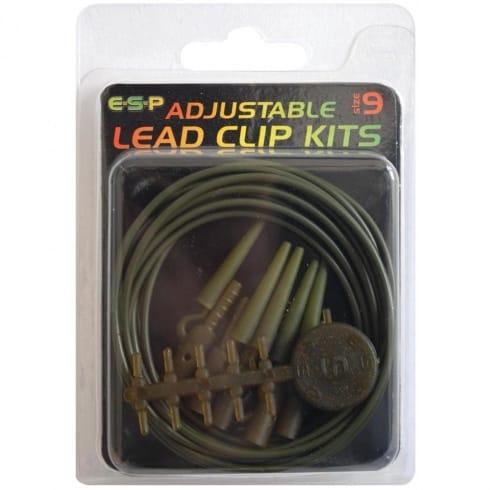ESP Adjustable Lead Clip Kit for carp fishing