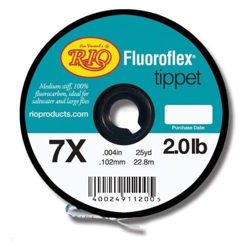 Rio Fluoroflex Tippet  fluorocarbon Line 25m