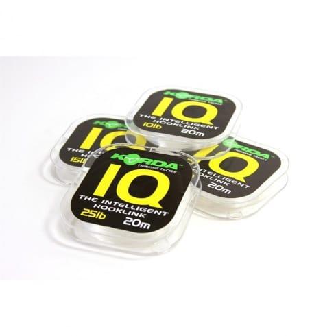 Korda fluorocarbon IQ carp line