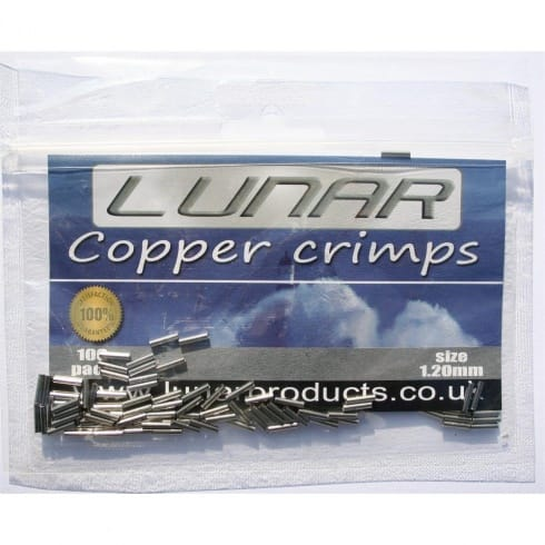 Lunar Sea Fishing Crimps 1mm and 1.2mm