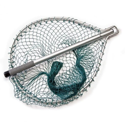 Mclean silver series folding nets mclean from north east for Collapsible fishing net