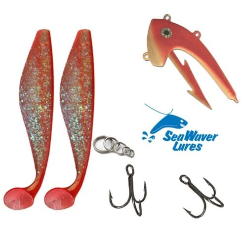 seawaver lures giant jighead combo for sea fishing - seawaver, Fishing Rod