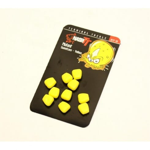 Nash Mutant Sweetcorn Yellow (10 per pack)