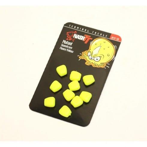Nash Mutant Sweetcorn Fluro Yellow (10 per pack)