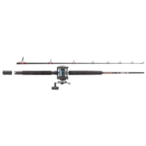 Abu Garcia Muscle Tip Boat Combo 6ft or 7ft 2 pc 20-40lb Boat rod with GT345 Multiplier Boat Reel