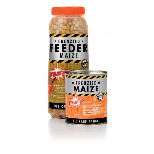 Dynamite Baits Frenzied feeder maize jar 2.5l