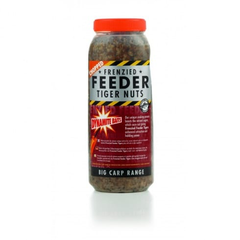Dynamite Baits Frenzied Feeder Tiger Chopped Nuts  Jar 2.5l