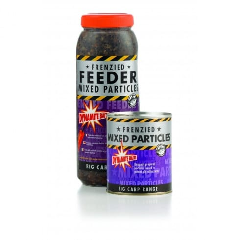 Dynamite Baits Frenzied Maize and Mixed Particles jar 2.5l