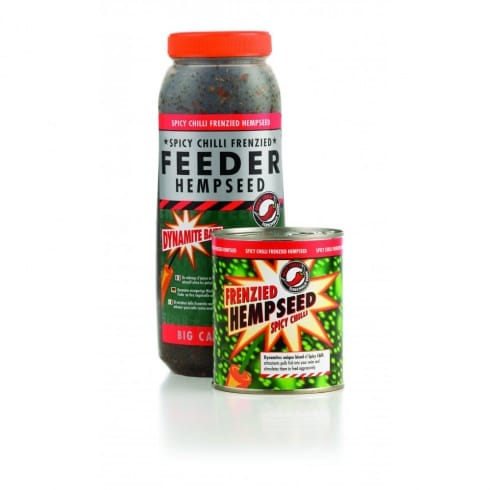 Dynamite Baits Frenzied Hempseed spicy chilli jar 2.5l
