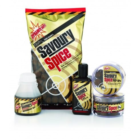 Dynamite Baits Savoury Spice Shelf Life Boilie 15mm 1kg