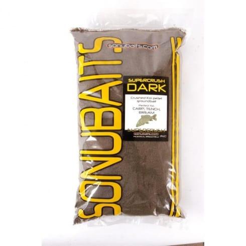 Sonu Baits Super Crush Dark groundbait 2kg