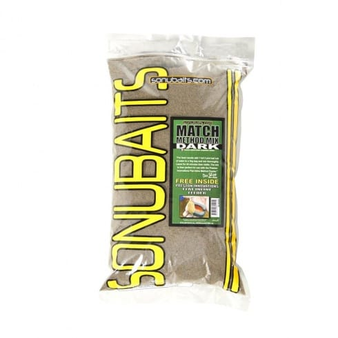 Sonu Baits Match Method Mix Dark groundbait 2kg
