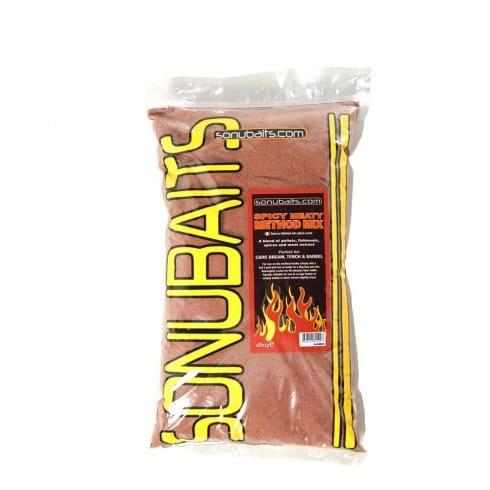Sonu Baits Spicy Meaty Method Mix groundbait 2kg