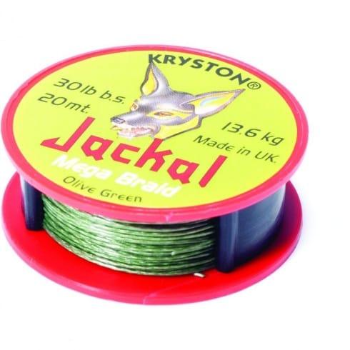 Kryston Hooklink braid Jackal Dark Silt 20lb