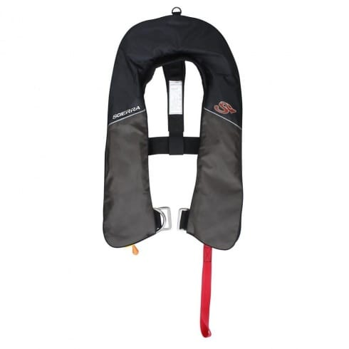 Scierra inflatable life vest fly fishing life jacket for Inflatable fishing vest
