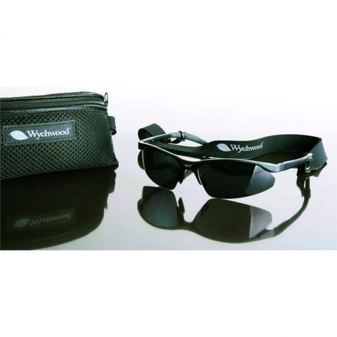 Wychwood Epic Magnesium Sunglasses Polarised Smoke Lens