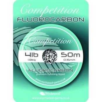 Wychwood Competition Flourocarbon Leader Line 50m Spool