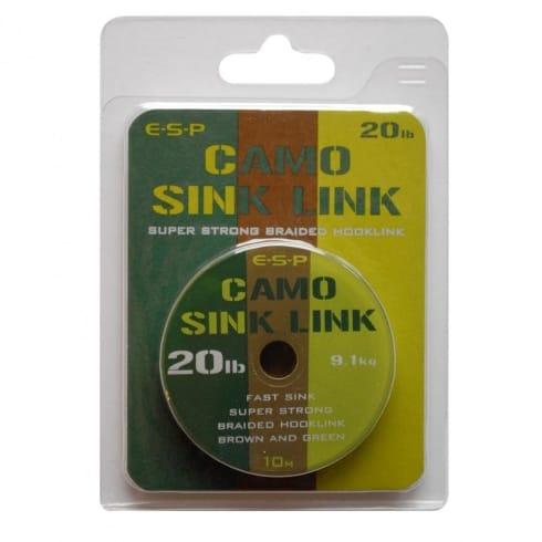 ESP Camo Sink Link Hooklink Braid