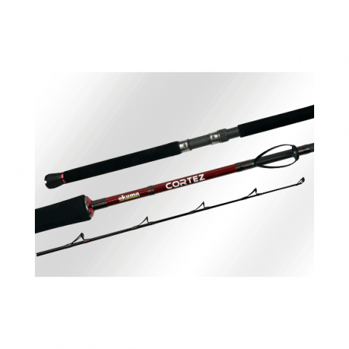 Okuma Cortez Travel Boat Rod 3pc 20 to 30lb and 30 to 50lb