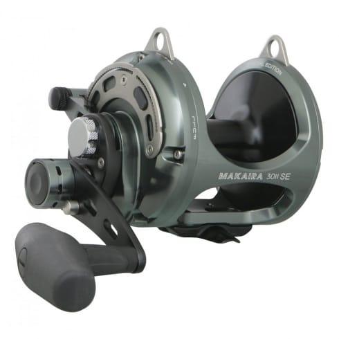 Okuma Makaira Big Game 2 Speed Fishing Reels SE Gunsmoke MK-8II & MK-10II