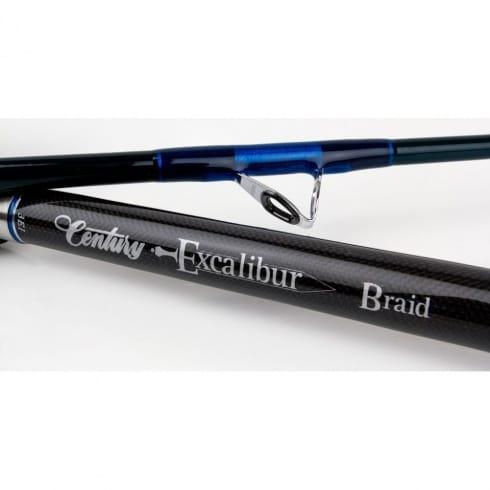 Century Excalibur Boat Braid Rods 12-20lb, 20-40lb and 20-50lb