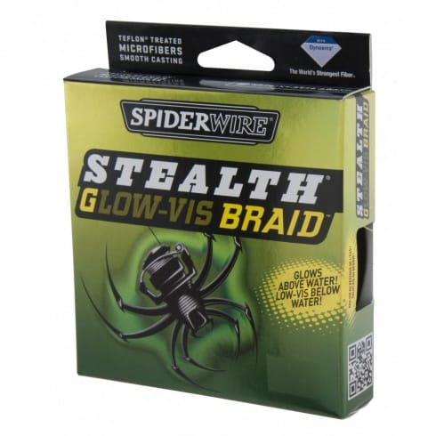 Spiderwire Stealth Braid Glow Vis