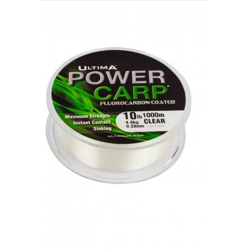 Ultima Power Carp Fluorocarbon Coated Specialist Carp Line