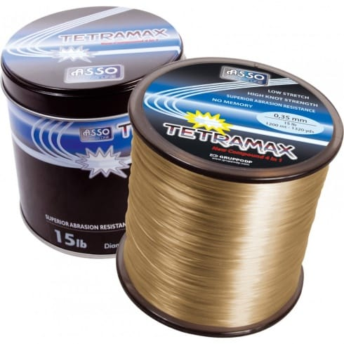 Asso Carp Line Tatramax Fuorocarbon Coated