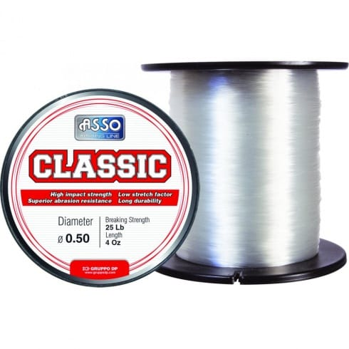 Asso classic line sea fishing north east tackle supplies for Big 5 fishing license