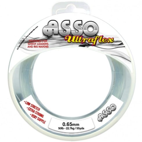 Asso Utraflex Sea Fishing Shockleader Line