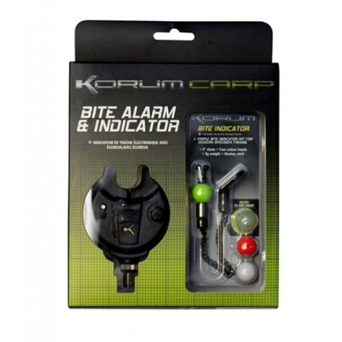Korum Bite alarm and Indicator
