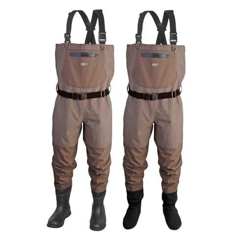 Scierra CC3 XP Breathable Stockingfoot Chest Waders and CC3 Wading Boots