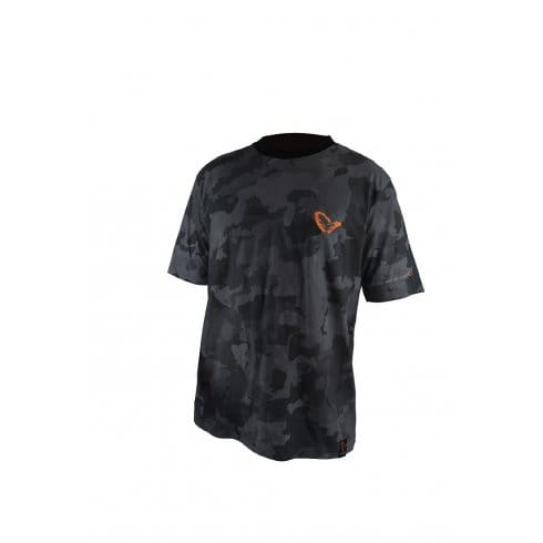 Savage Gear Black Cotton T-Shirt