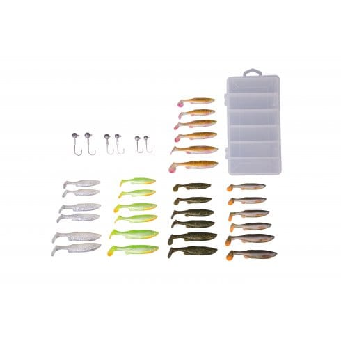 Savage Gear Fat Minnow Kit T Tail 30 + 6pcs