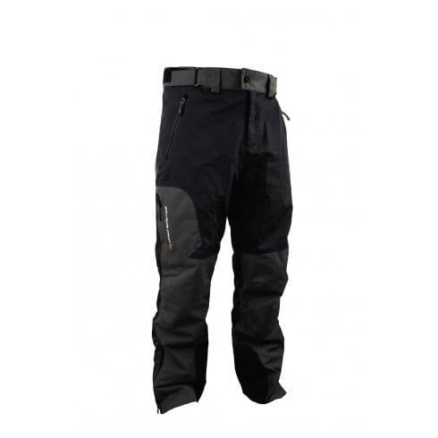 Savage Gear Durable Black and Grey Waterproof Trousers