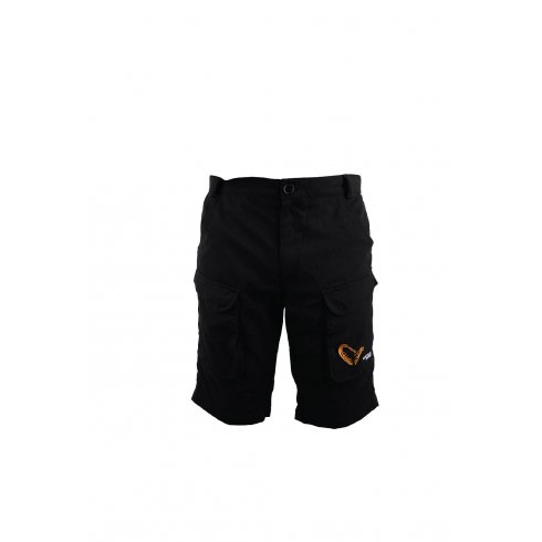 Savage Gear Xoom Black Shell Fabric Shorts
