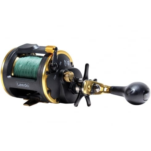 Leeda Icon M30 Multiplier reel Loaded With 40lb Braid