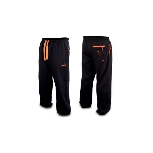 Fox Black/Orange Lightweight Jogging Bottoms