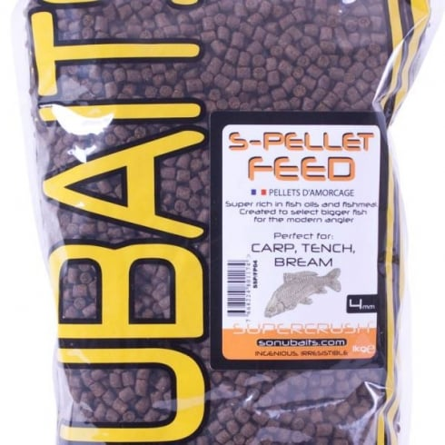 Sonu Baits 4mm S Pellet Feed 150g