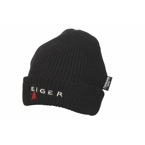 Eiger Hat Loosely Knitted (thinsulate) Black
